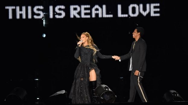 Blue Ivy Shields Her Eyes From Beyonce and JAY-Z's Sexy Interlude During On the Run Tour II -- Watch!