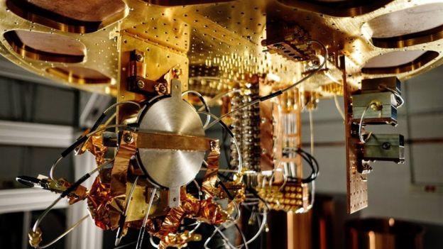 Komponen komputer kuantum milik Google