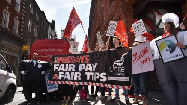wetherspoon mcdonald s and tgi fridays workers to strike bbc news