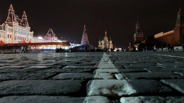 Natal em Moscou