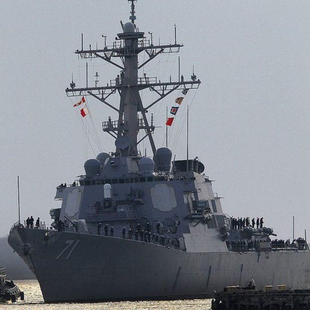 Destructor USS Ross.