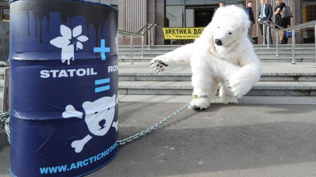 Manifestação na Noruega