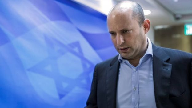 Israeli Education Minister Naftali Bennett. Photo: 4 February 2018