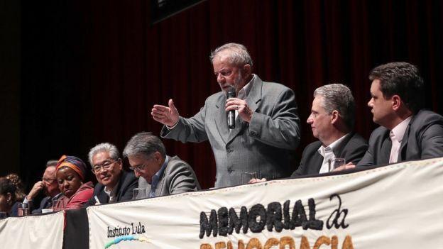 Lula em foto de 10 de julho
