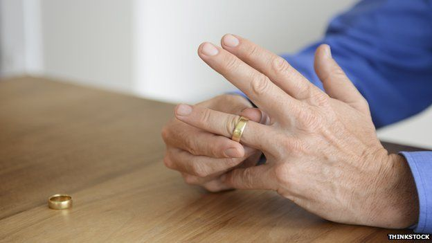Man with ring