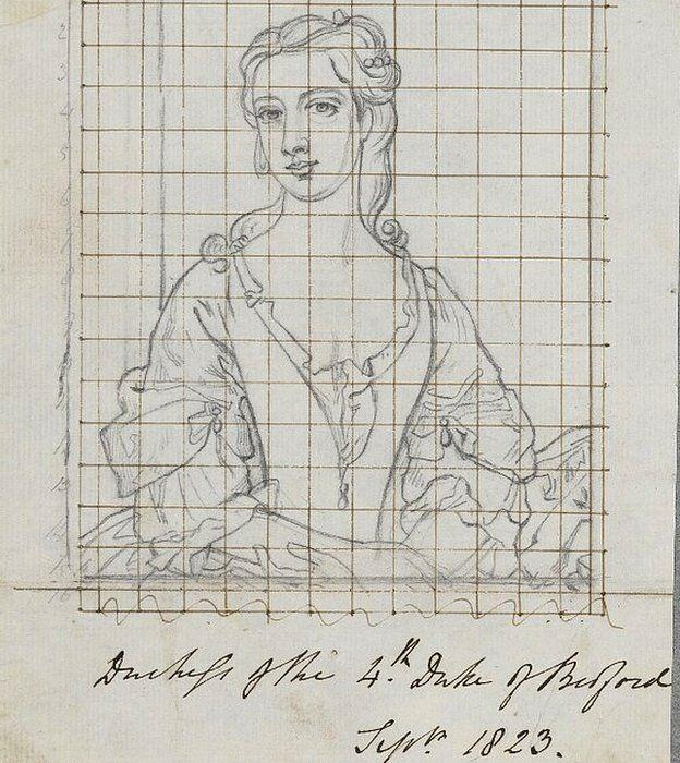 Lady Diana Spencer del siglo XVIII