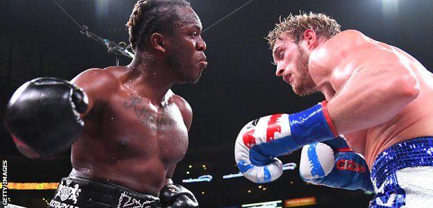 KSI golpea a Logan Paul
