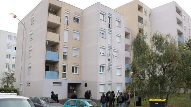 Building in Creil, where the fugitive Rédoine Faïd was arrested