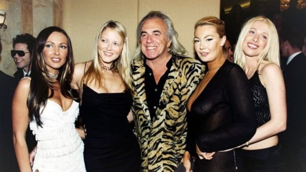 Peter Stringfellow at the Bacardi London Club and Bar Awards in 2001