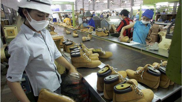 Ngành công nghiệp đóng giầy Việt Nam