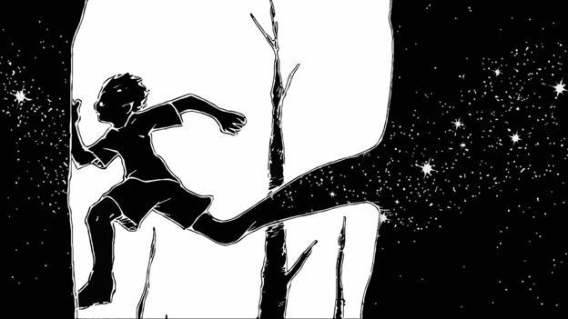 Constelação em forma de menino