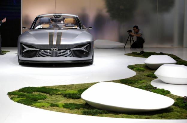 یکی از مدلهای کانسپت شرکت نوپای کیانتو موتورز