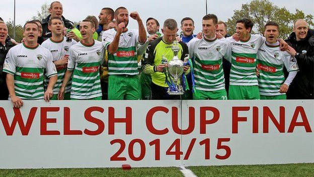 The New Saints won the Welsh Cup in 2015