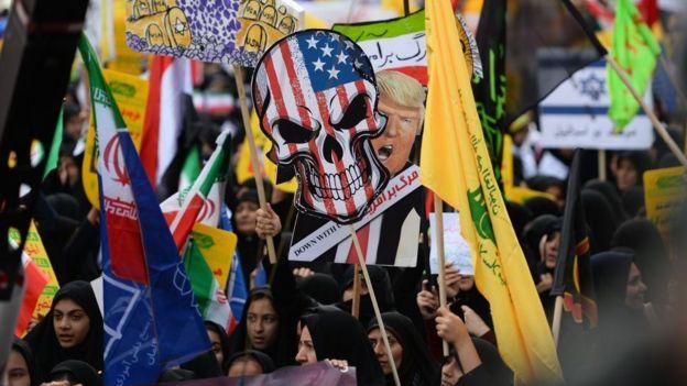 Иранцы не любят США