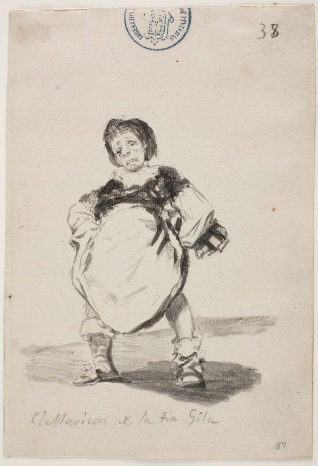 El Maricón de la tía Gila, de Francisco de Goya