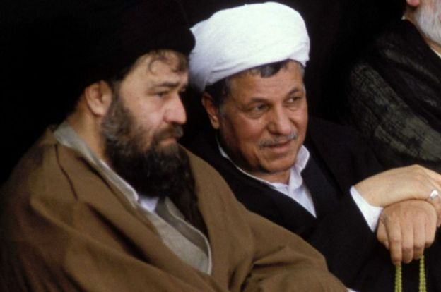هاشمی رفسنجانی و احمد خمینی