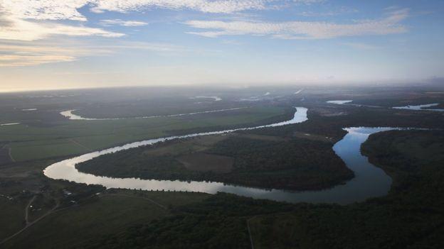 Río Bravo o Grande.