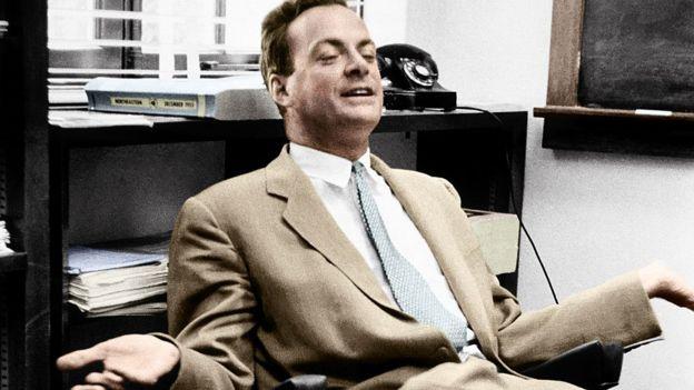 Richard Feynman en 1956