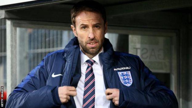 Meneja wa England Gareth Southgate