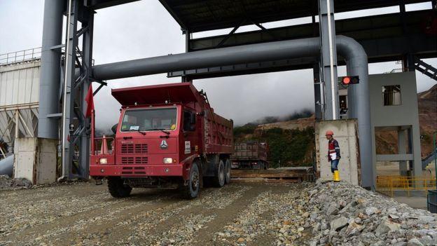 Minería en Sudamérica