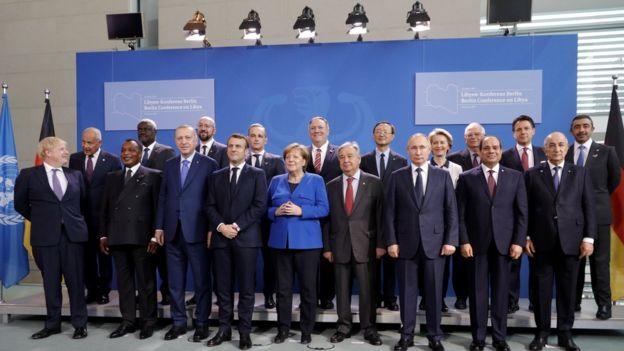 حضور دولي قوي في مؤتمر برلين حول ليبيا