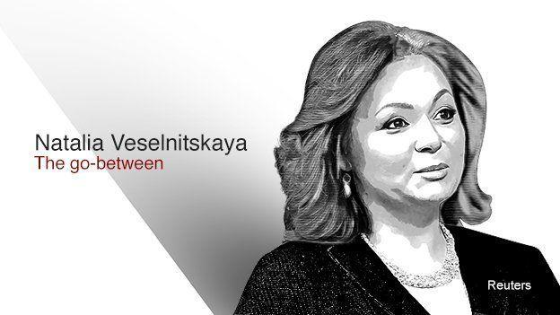Natalia Veselnitskaya - The go-between