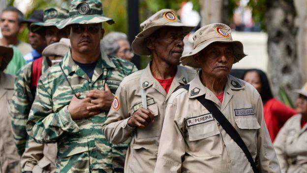 Milicia venezolana