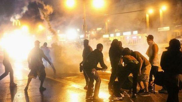 امریکہ میں احتجاج