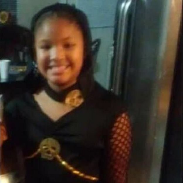 7-year-old Jazmine Barnes