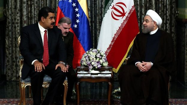 Maduro e Rohani