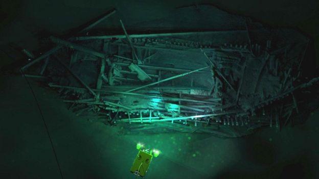 """اكتشاف أثري يعتقد العلماء أنه لـ """"سفينة نوح"""""""