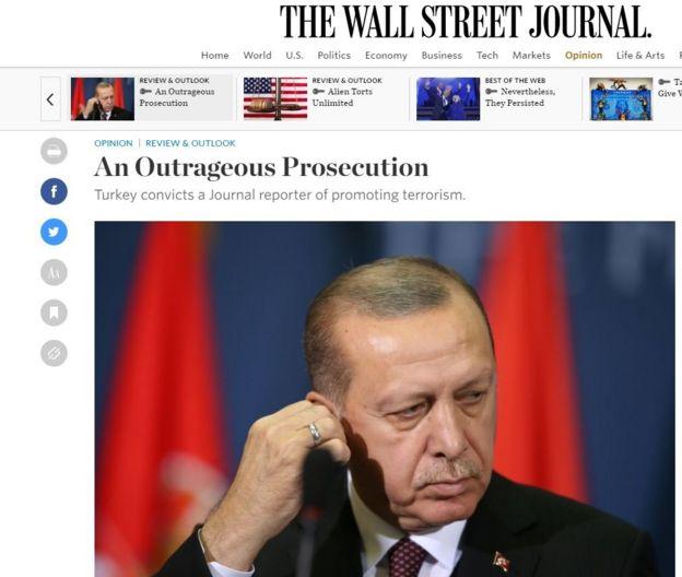 WSJ makale ekran görüntüsü