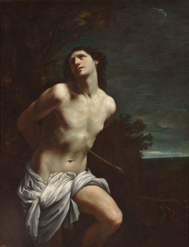 San Sebastián, Guido Reni, 1617 - 1619