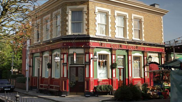 EastEnders set rebuild goes £27m over budget - BBC News on albert square london, albert square soap, albert square map, albert square celeb,
