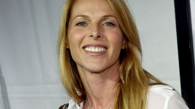 Catherine Oxenberg at a Hollywood premiere in 2005