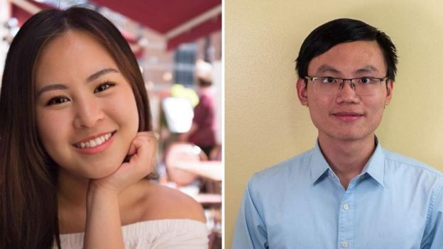 Evelyn Leong (trái) và Nhân Nguyễn, hai trong số các thành viên chủ chốt của The Interpreter