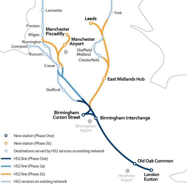 HS2 route: How much will the rail scheme cost? - BBC News