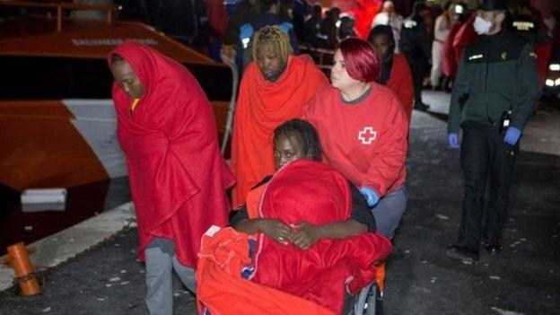'احتمال غرق شدن ۱۷۰ مهاجر عازم اروپا در مدیترانه'