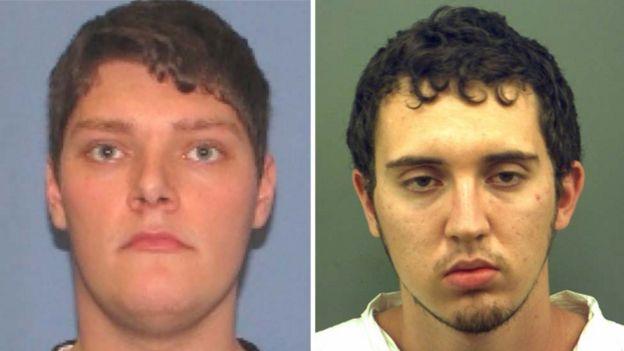 Connor Betts y Patrick Crusius, los sospechosos de los tiroteos masivos en Dayton (Ohio) y El Paso (Texas), respectivamente.