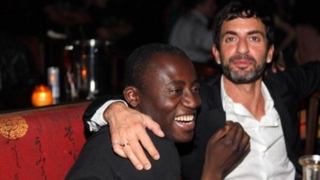 Edward Enninful and Marc Jacobs