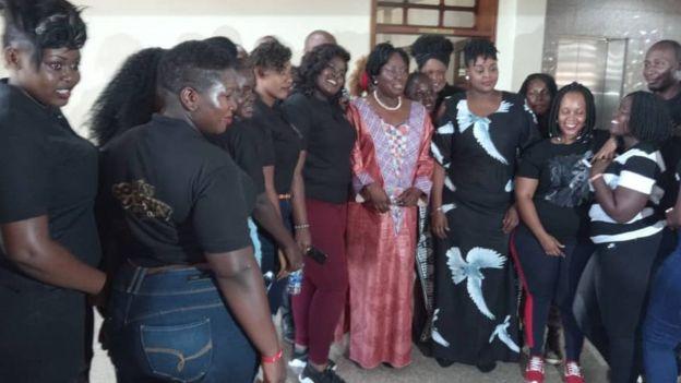 Warembo na spika wa uganda Bi Rebecca Kadaga