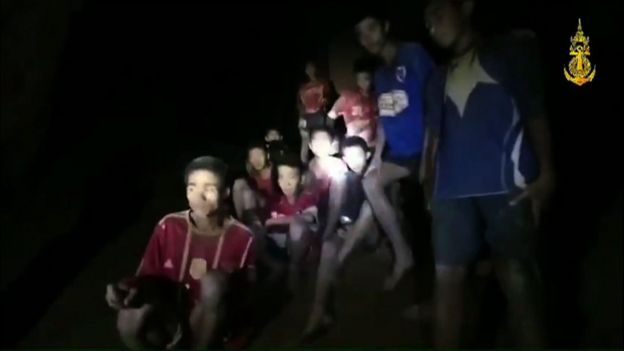 Four more boys rescued by Thai Navy divers