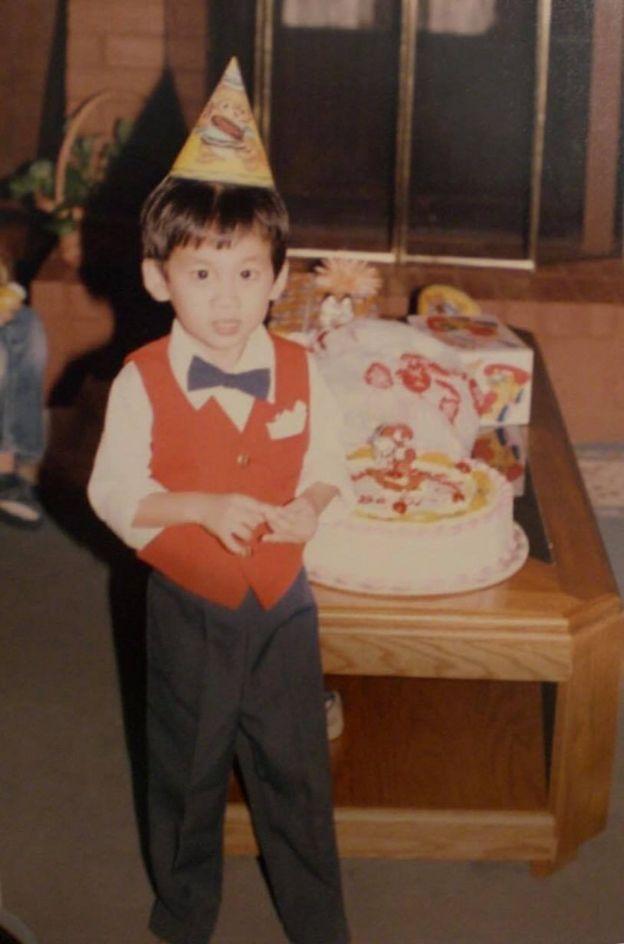 Will Nguyễn ở Houston, Texas lúc lên ba