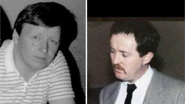 John Benedict Devine and John Joseph Gerard O'Hara.