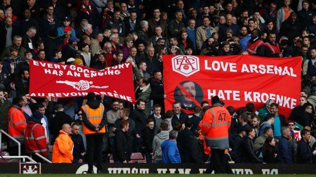 Aficionados de Arsenal