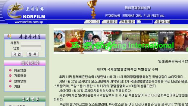 what the north korean internet really looks like bbc news