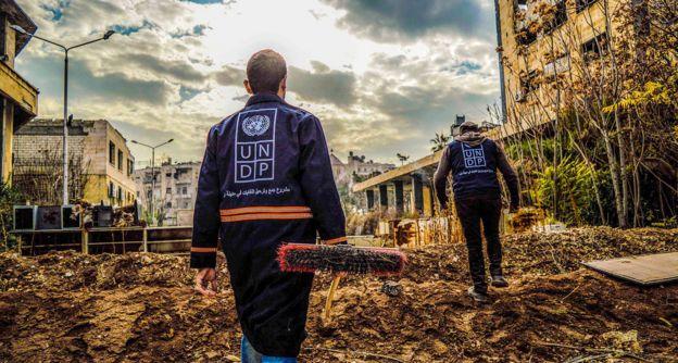 Aleppo Debris Removal