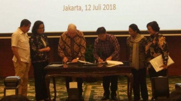 Indonesia juga punya kepentingan selain persoalan keuntungan ekonomi tetapi juga masalah kedaulatan terkait Freeeport.