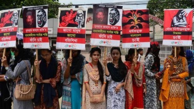 Dibadbaxyo looga soo horjeedo tacaddiyada gabdhaha ayaa ka dhacay Bangladesh