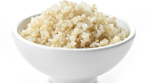 bowl of quinoa